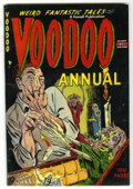Golden Age (1938-1955):Horror, Voodoo Annual #1 (Farrell, 1952) Condition: Apparent FN/VF....