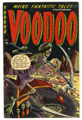 Golden Age (1938-1955):Horror, Voodoo #11 (Farrell, 1953) Condition: FN/VF....