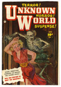 Golden Age (1938-1955):Horror, Unknown World #1 (Fawcett, 1952) Condition: FN+....