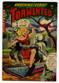 Golden Age (1938-1955):Horror, Tormented #1 (Sterling, 1954) Condition: FN....