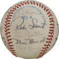 Autographs:Baseballs, 1984 Seattle Mariners Team Signed Baseball. Twenty-two players fromthe 1984 Seattle Mariners have checked in on the offere...