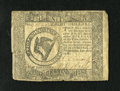 Colonial Notes:Continental Congress Issues, Continental Currency September 26, 1778 $8 Very Fine. The lowerleft corner has been reattached with the period method of se...