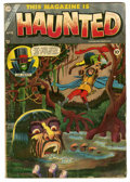 Golden Age (1938-1955):Horror, This Magazine Is Haunted #18 (Fawcett, 1954) Condition: GD....