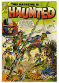 Golden Age (1938-1955):Horror, This Magazine Is Haunted #16 (Fawcett, 1954) Condition: FN+....