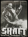 Movie Posters:Blaxploitation, Shaft (MGM, 1971). Pressbook (Multiple Pages). Blaxploitation.Starring Richard Roundtree and Moses Gunn. Directed by Gordon...