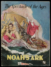 Noah's Ark (Warner Brothers, 1928). Program (Multiple Pages). Drama. Starring Dolores Costello, George O'Brien, Noah Bee...