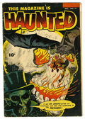 Golden Age (1938-1955):Horror, This Magazine Is Haunted #14 (Fawcett, 1953) Condition: VG-....