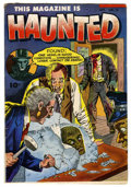 Golden Age (1938-1955):Horror, This Magazine Is Haunted #13 (Fawcett, 1953) Condition: FN-....