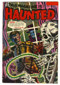 Golden Age (1938-1955):Horror, This Magazine Is Haunted #11 (Fawcett, 1953) Condition: FN/VF....