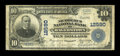 National Bank Notes:Maryland, Hagerstown, MD - $10 1902 Plain Back Fr. 635 The Nicodemus NB Ch. #12590. ...