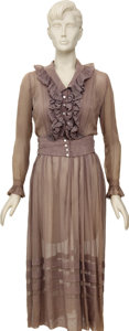 Movie/TV Memorabilia:Costumes, Olivia de Havilland To Each His Own Screen-Worn Dress. Winning an Oscar for Best Actress in her leading role as ... (Total: 1 Item)