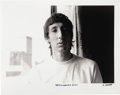 """Music Memorabilia:Photos, Pete Townshend Photo by Michael Maltese. A b&w 20"""" x 16"""" photo of Who guitarist Pete Townshend, dated August 11, 1967, by ph... (Total: 1 Item)"""