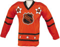 Hockey Collectibles:Equipment, 1975 Bernie Parent Game Worn All-Star Jersey. Following his return to the NHL from the burgeoning World Hockey Association ...