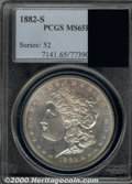 Additional Coins: , 1891-CC Dollar MS 64 ICG. Nice cartwheel luster with an above a...