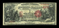 National Bank Notes:Kentucky, Louisville, KY - $5 1875 Fr. 404 The Third NB Ch. # 2171. ...