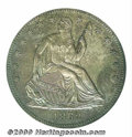 Binder Lots--Three Cent Pieces: , 1862 Half Dollar, Judd-295, Pollock-353, R.6, PR 64 PCGS. R...
