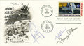 Explorers:Space Exploration, Apollo 11 First Day Cover Signed by Crew and by Gerald R. Ford. ...