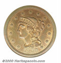 Binder Lots--Three Cent Pieces: , 1868 Ten Cents, Judd-648, Pollock-721, R.6, PR 66 Red and Bro...