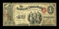 National Bank Notes:Kentucky, Henderson, KY - $1 Original Fr. 380 The Henderson NB Ch. # 1615....