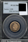 Proof Indian Cents: , 1863 1C