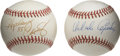Autographs:Baseballs, Orlando Cepeda and. Hopalong Cassady Single Signed Baseballs Lot of2. The man known as the Babe Ruth of Latin America, Orl...