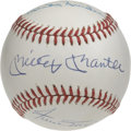 Autographs:Baseballs, Willie, Mickey and the Duke Multi-Signed Baseball. During most ofthe 1950s every young boy in the New York area dreamed of...