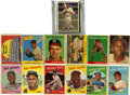 Baseball Cards:Lots, 1957-1959 Topps Baseball Collection of 37. Star-studded group fromthe late 1950s. Includes 1957 Topps #45 Carl Furillo, 76...