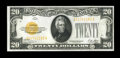 Small Size:Gold Certificates, Fr. 2402 $20 1928 Gold Certificate. Very Choice Crisp Uncirculated.. ...