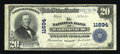National Bank Notes:Virginia, Harrisonburg, VA - $20 1902 Plain Back Fr. 659 The NB ofHarrisonburg Ch. # 11694. ...