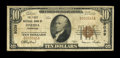 National Bank Notes:Tennessee, Oneida, TN - $10 1929 Ty. 1 The First NB Ch. # 8039. ...