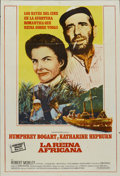 "Movie Posters:Adventure, The African Queen (Columbia, R-1960s). Argentinean Poster (29"" X43""). Adventure...."