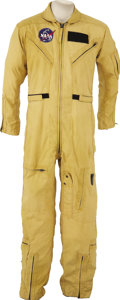 Explorers:Space Exploration, NASA Test Pilot Flight Suit Worn by Robert Sommer. ...