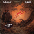 Music Memorabilia:Autographs and Signed Items, Joe Walsh Signed The Confessor Promo Copy LP. A Quiex II limited edition pressing with promo copy stamp of Walsh... (Total: 1 Item)