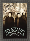 Music Memorabilia:Autographs and Signed Items, Joe Walsh Signed Eagles Farewell 1 Tour Promo Book. A 24-page tourpromo book from the band's 2003-04 farewell tour, signed ...(Total: 1 Item)