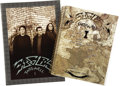Music Memorabilia:Memorabilia, Eagles European Farewell 1 Tour Schedule Book and Promo Book. Includes a copy of the 24-page tour promo book from the band's... (Total: 1 Item)
