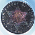 Three Cent Silver: , 1870 3CS