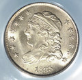 Bust Half Dimes: , 1835 H10C Small Date
