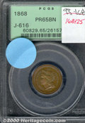 Binder Lots--Three Cent Pieces: , 1865 50C J-431