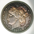 Binder Lots--Three Cent Pieces: , 1873 T$1 J-1311