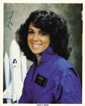 Explorers:Space Exploration, Judy Resnik Signed and Inscribed NASA Photograph....