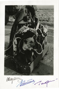 Explorers:Space Exploration, Image of Russian Space Dog, Signed by Russian Cosmonauts....