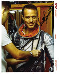 Explorers:Space Exploration, Scott Carpenter Signed Official NASA Photo....