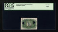 Fractional Currency:Second Issue, Fr. 1249 10c Second Issue Experimental Back PCGS Gem New 65....