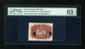 Fractional Currency:Second Issue, Milton 2E50R.3a 50¢ Second Issue Specimen PMG Choice Uncirculated 63 EPQ....