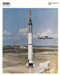 Explorers:Space Exploration, Wally Schirra Signed Official NASA Photo. ...