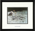 Explorers:Space Exploration, Inscribed and Signed Photo of Apollo 16 Moon Rover by AstronautCharles M. Duke, Jr. ...