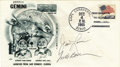 Explorers:Space Exploration, Gemini Titan 7 First Day Cover Signed by Borman and Lovell. ...