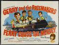"Movie Posters:Rock and Roll, Ferry Cross the Mersey (United Artists, 1965). British Quad (30"" X40""). Rock and Roll...."