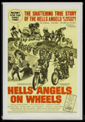 "Movie Posters:Cult Classic, Hells Angels on Wheels (Fanfare, 1967). One Sheet (27"" X 41""). Cult Classic...."