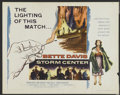 "Movie Posters:Drama, Storm Center (Columbia, 1956). Half Sheet (22"" X 28"") Style B.Drama...."